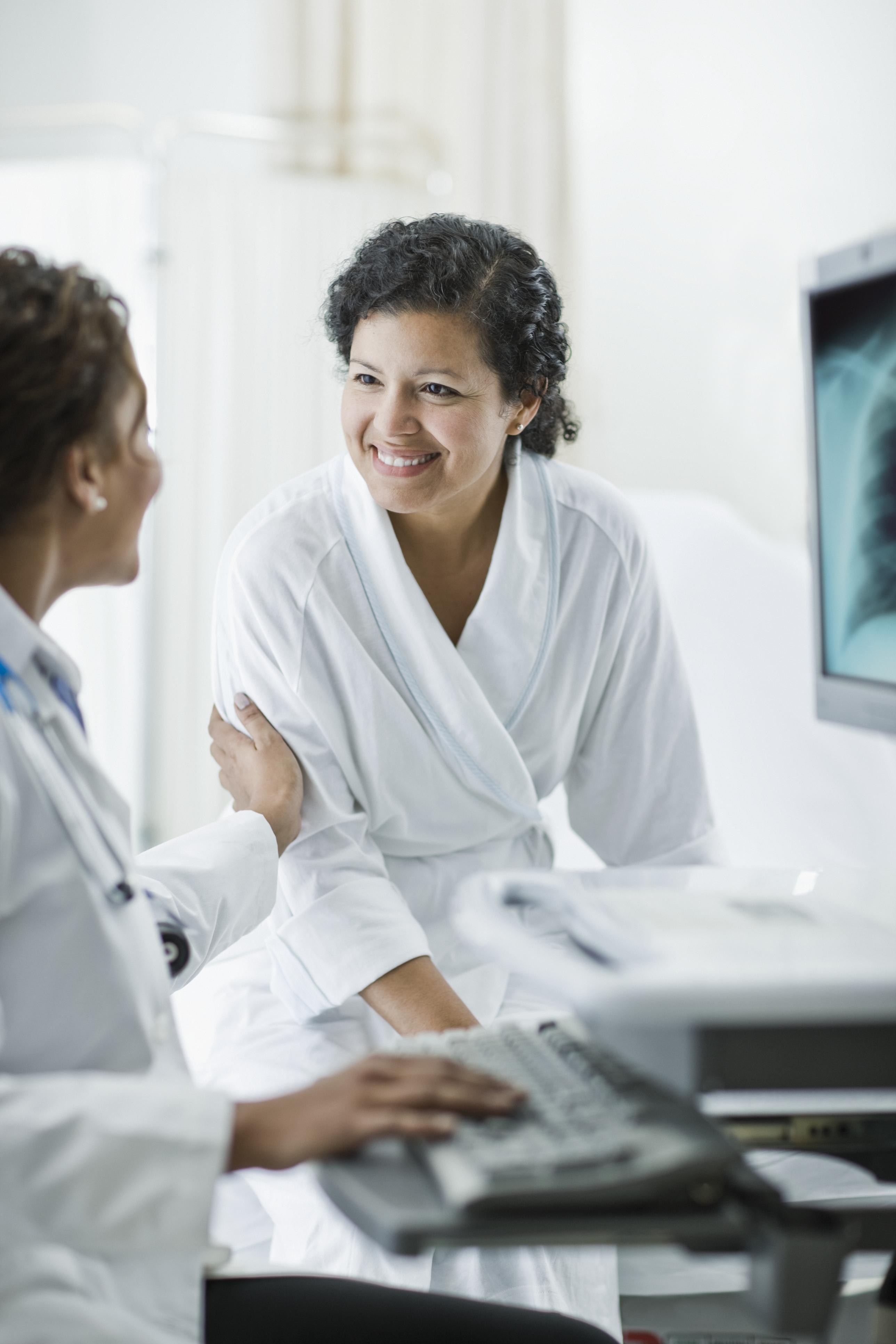 Medical Professional Assisting Patient