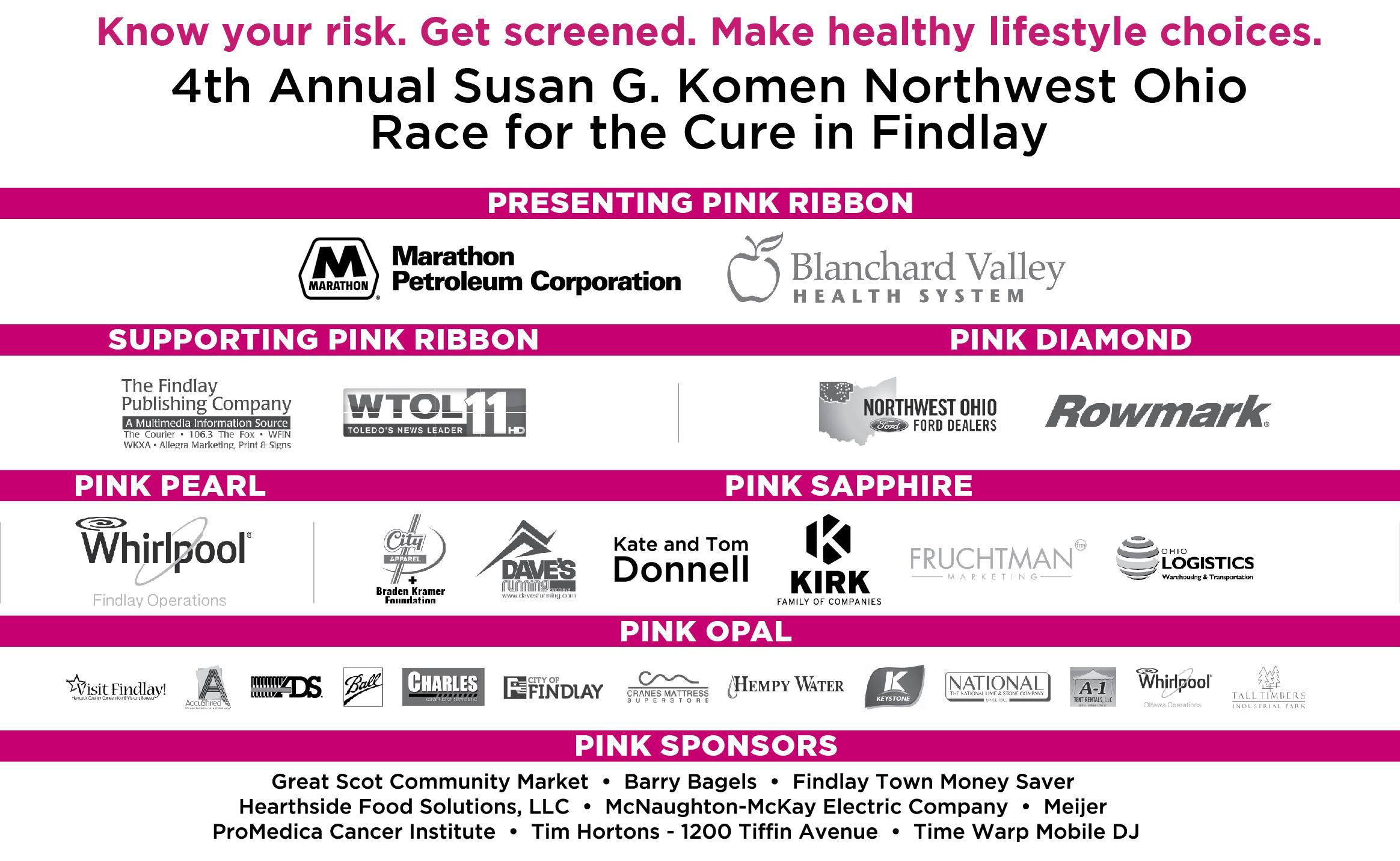 susan g komen northwest ohio race for the cure susan g click to enlarge 16 4730 compactsponsorlockup findlay 01