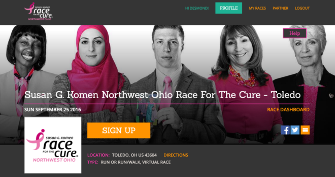Race for the Cure registration sites launched to meet rising local breast cancer needs